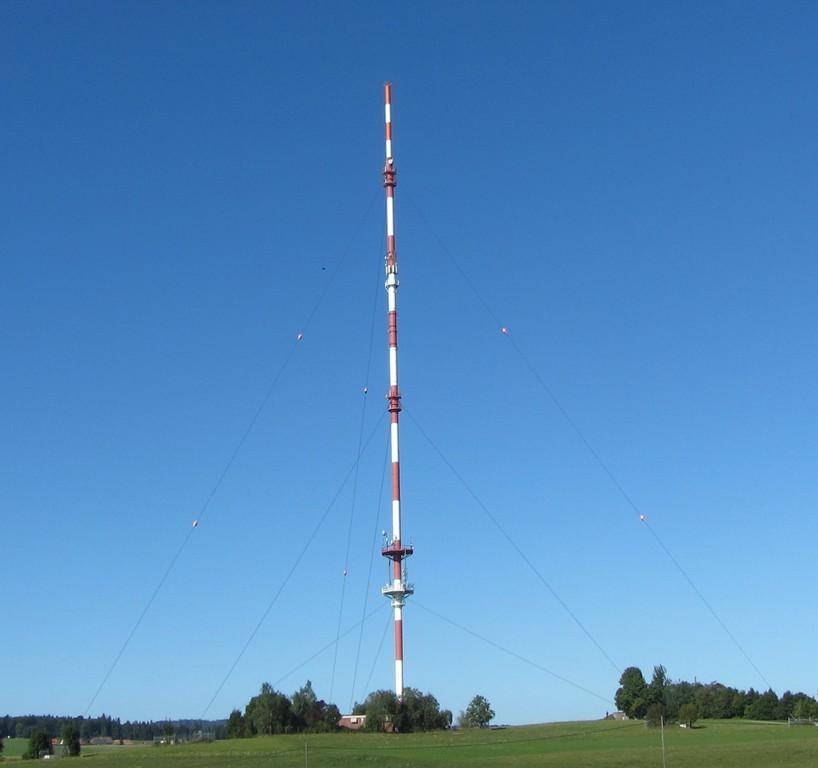 Sendeturm bei Bergalingen   © Hartmut Hermanns