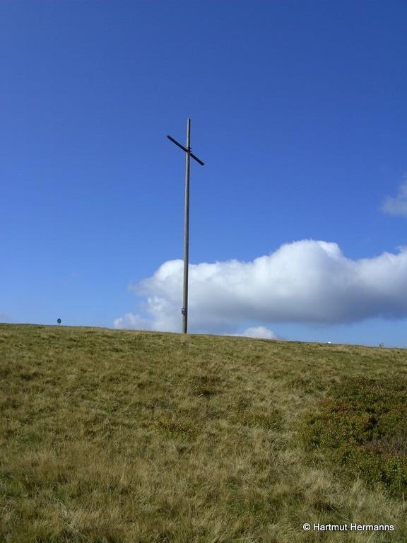 Herzogenhorn 1415m Gipfelkreuz © Hartmut Hermanns