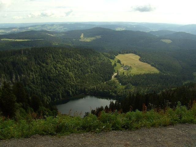 Blick in den Feldsee - Kessel