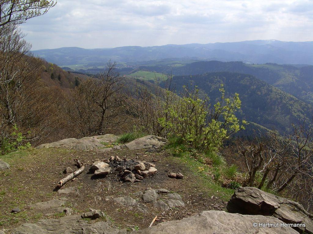 Aussicht von der Thomashütte   © Hartmut Hermanns