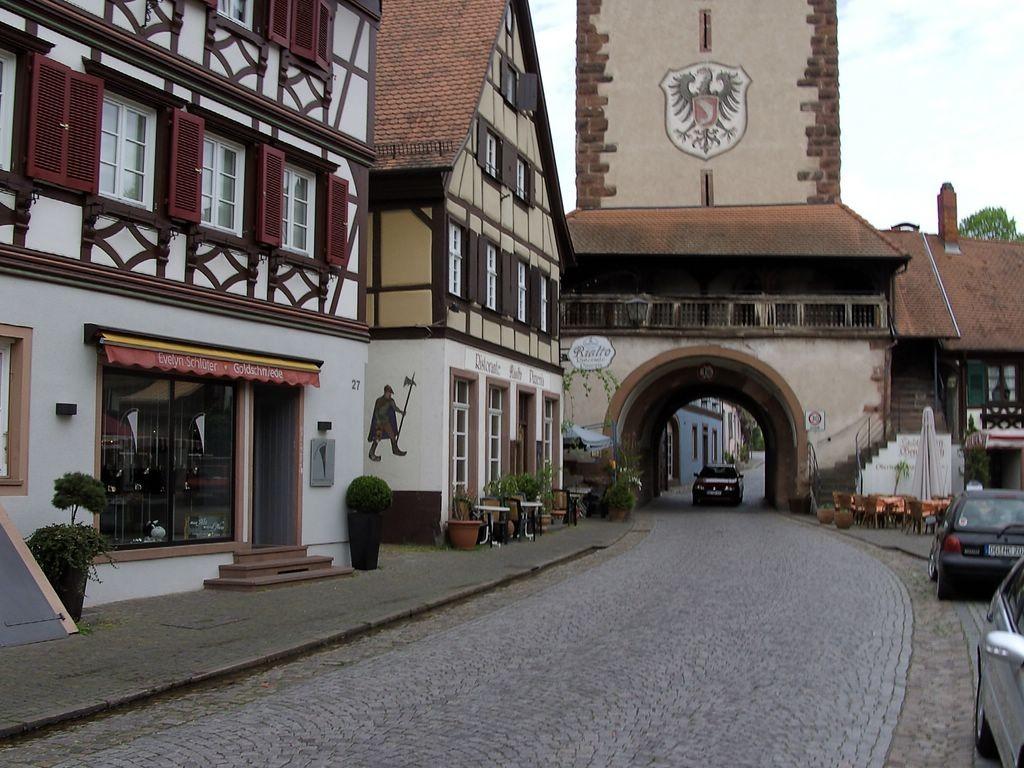 Haigeracher Tor in Gengenbach   © Hartmut Hermanns