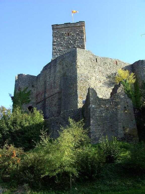 Nordmauer und Bergfried  © Hartmut Hermanns
