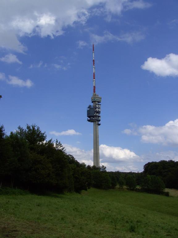 Fernsehsendeturm auf St.Chrischona    © Hartmut Hermanns