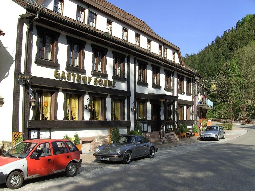 Gasthaus Engel in Schapbach  Vorderseite   © Hartmut Hermanns