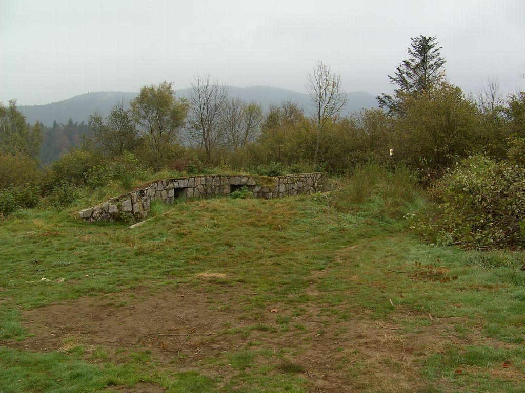 Bunkerreste an der Prechtaler Schanze  © Hartmut Hermanns