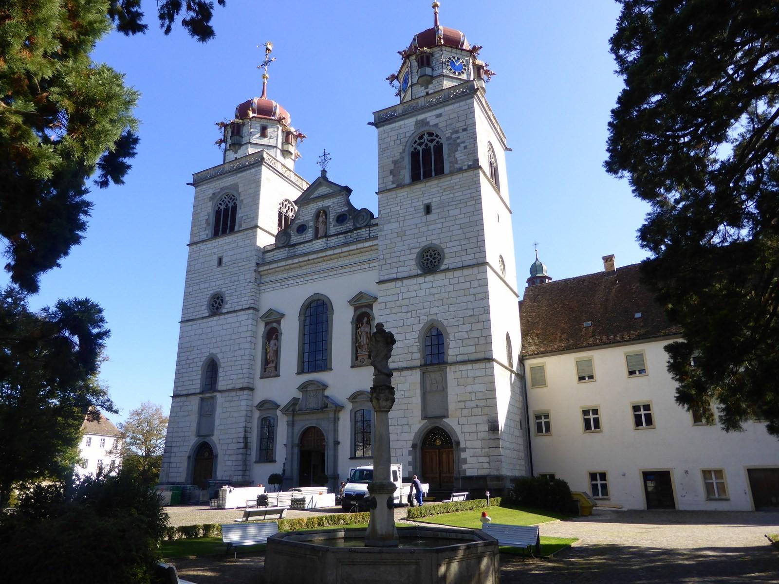 Klosterkirche Rheinau C Hartmut Hermanns