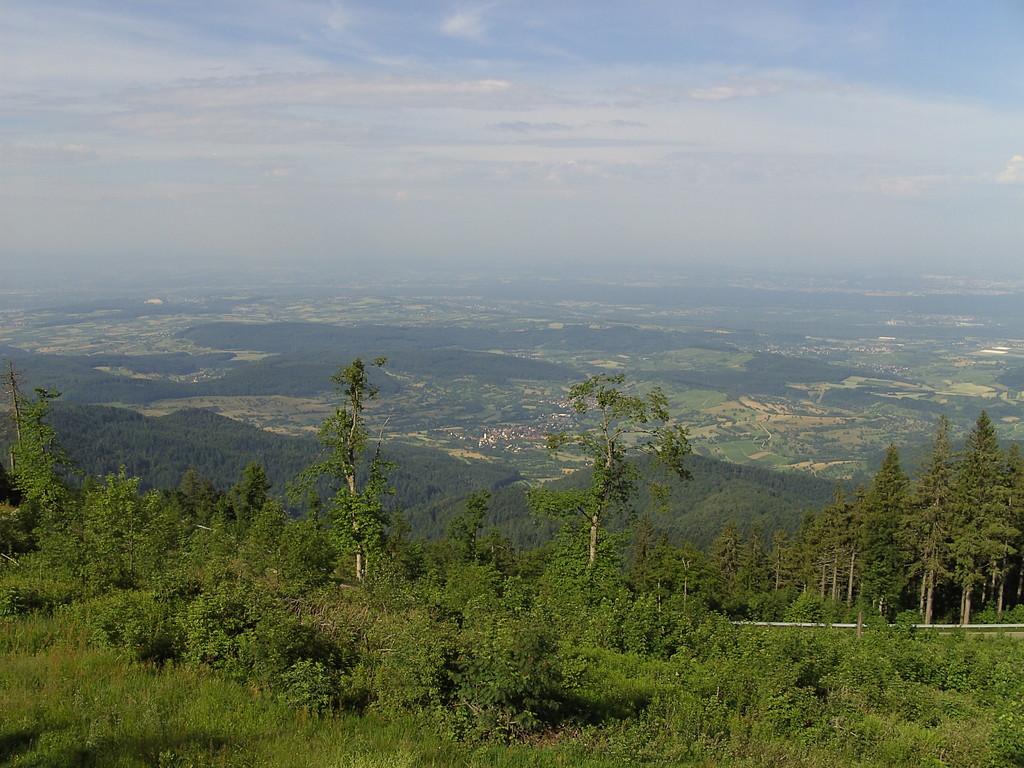 Ausblick in das Markgräflerland   © Hartmut Hermanns