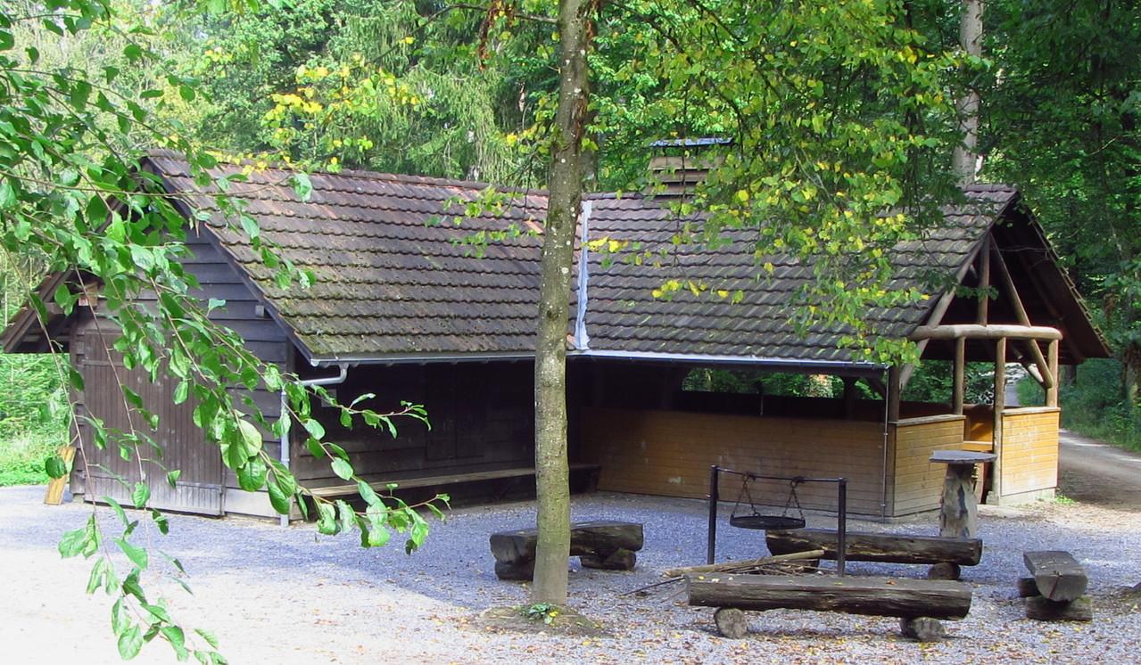 Luxus-Grillierhütte (Schweizer Version)  © Hartmut Hermanns