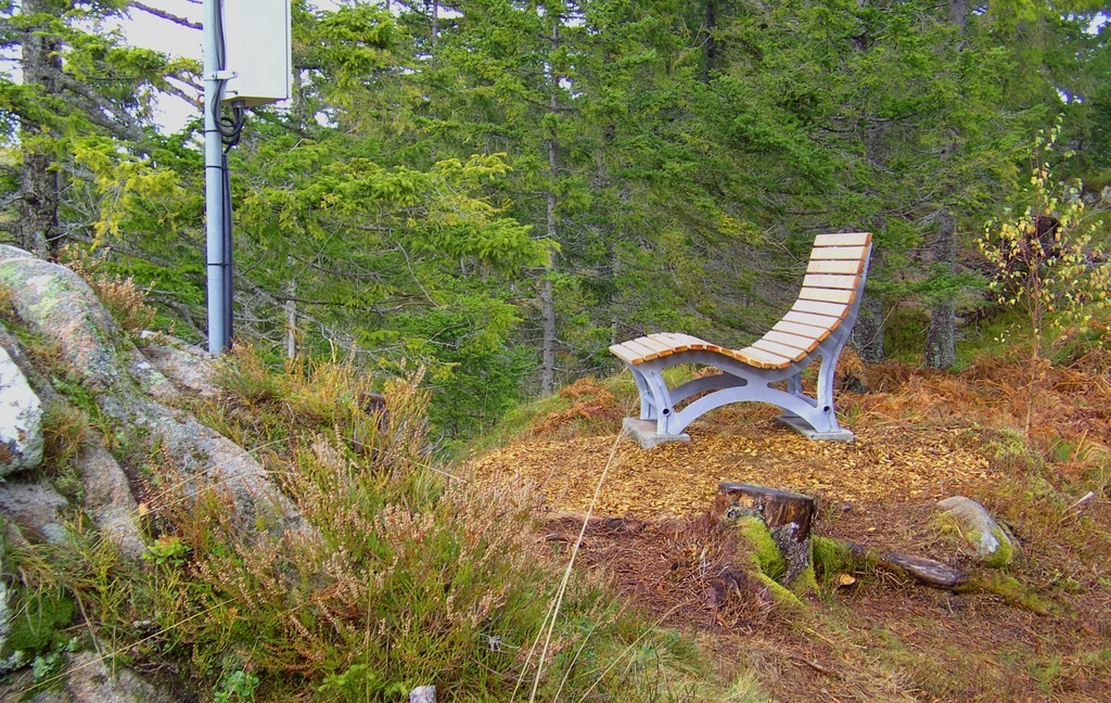 Chaise longue au Hohfelsen (Himmelsliege)  © Hartmut Hermanns