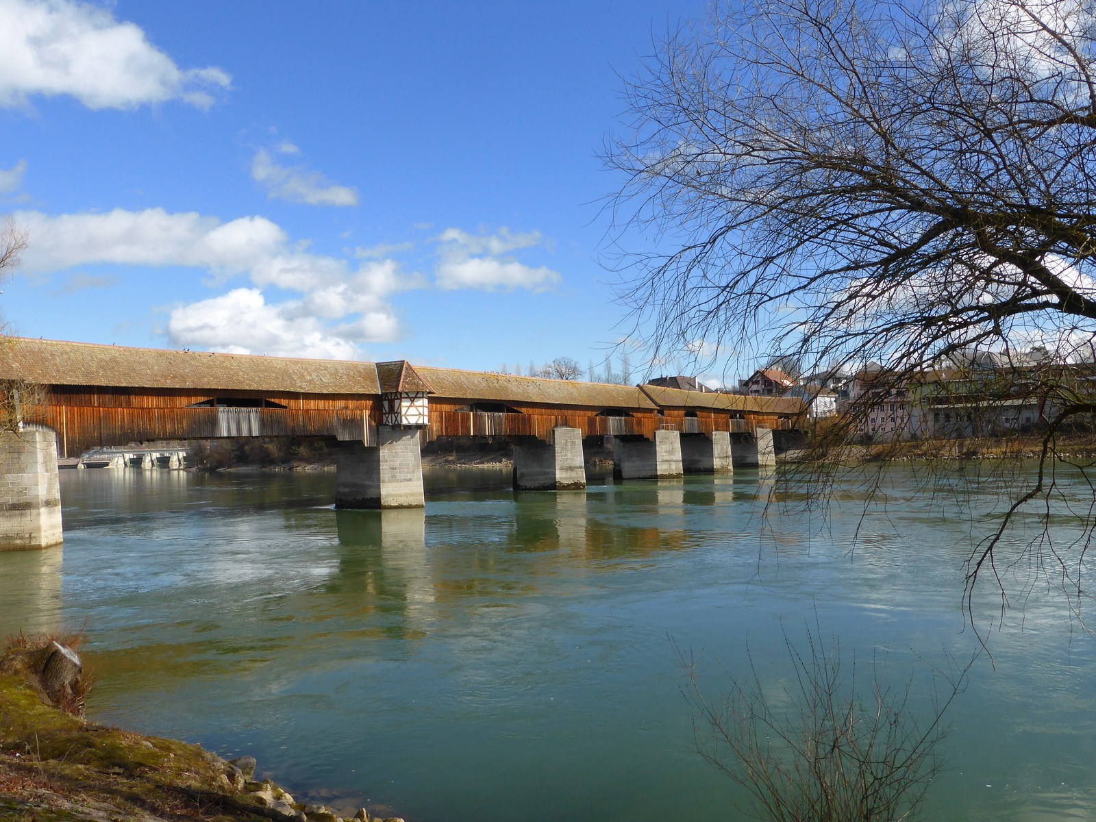 Holzbrücke Bad Säckingen © Hartmut Hermanns