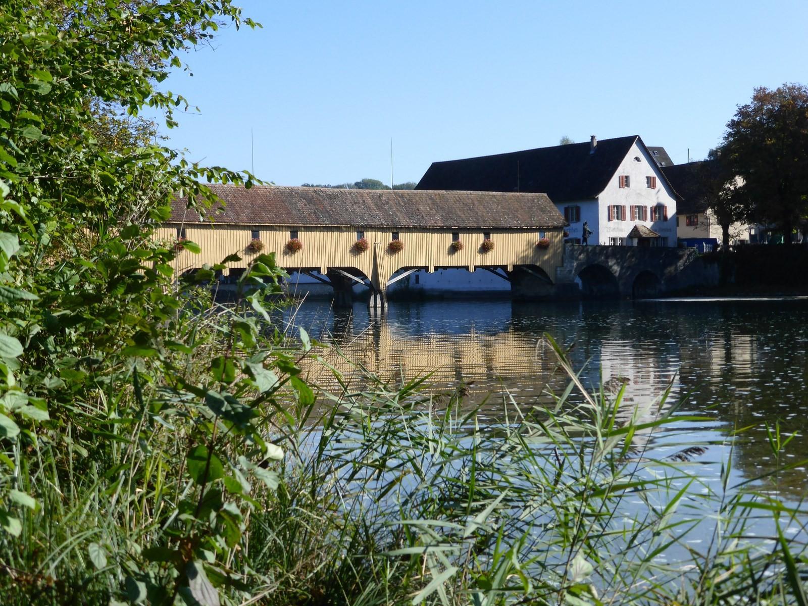 Gedeckte Holzbrücke Rheinau C Hartmut Hermanns