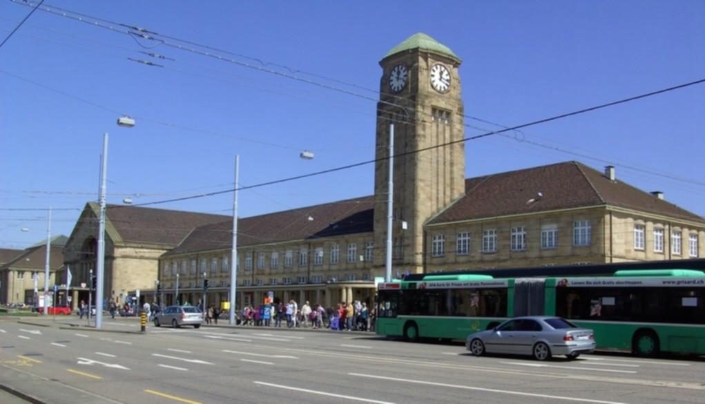 Bahnhof Basel Badische Bahnhof