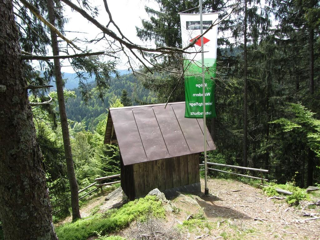 Rudolf-Jordan-Hütte am Scheibenfelsen   © Hartmut Hermanns