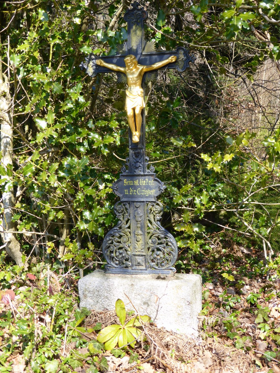Kruzifix Wickartsmühle © Hartmut Hermanns