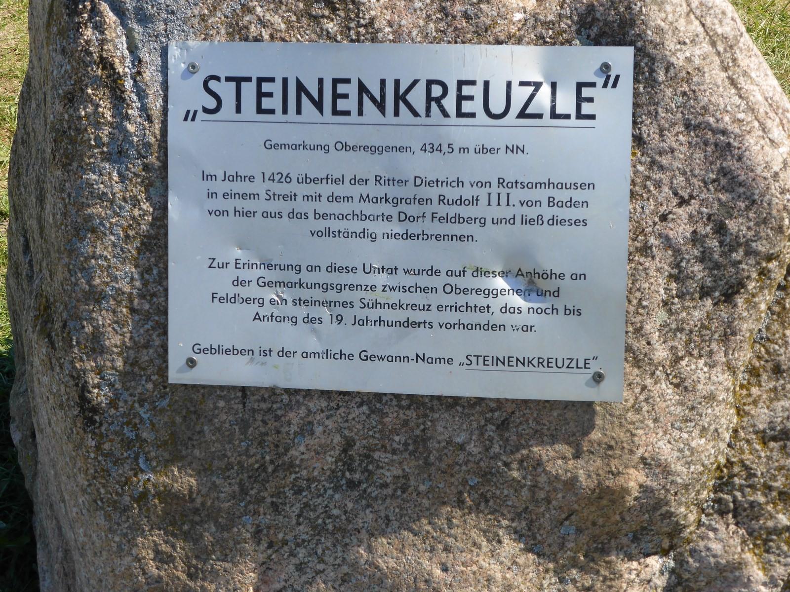 Steinenkreuzle © Hartmut Hermanns