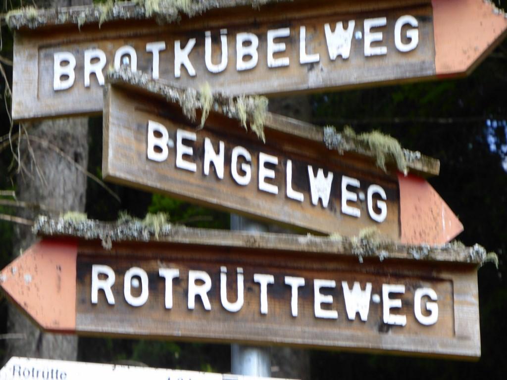 Wegkreuzung bei der Wittlisberger Kapelle © Hartmut Hermanns