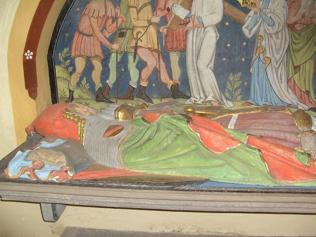 Grab des Rudolf III. von Hachberg-Sausenberg © Hartmut Hermanns