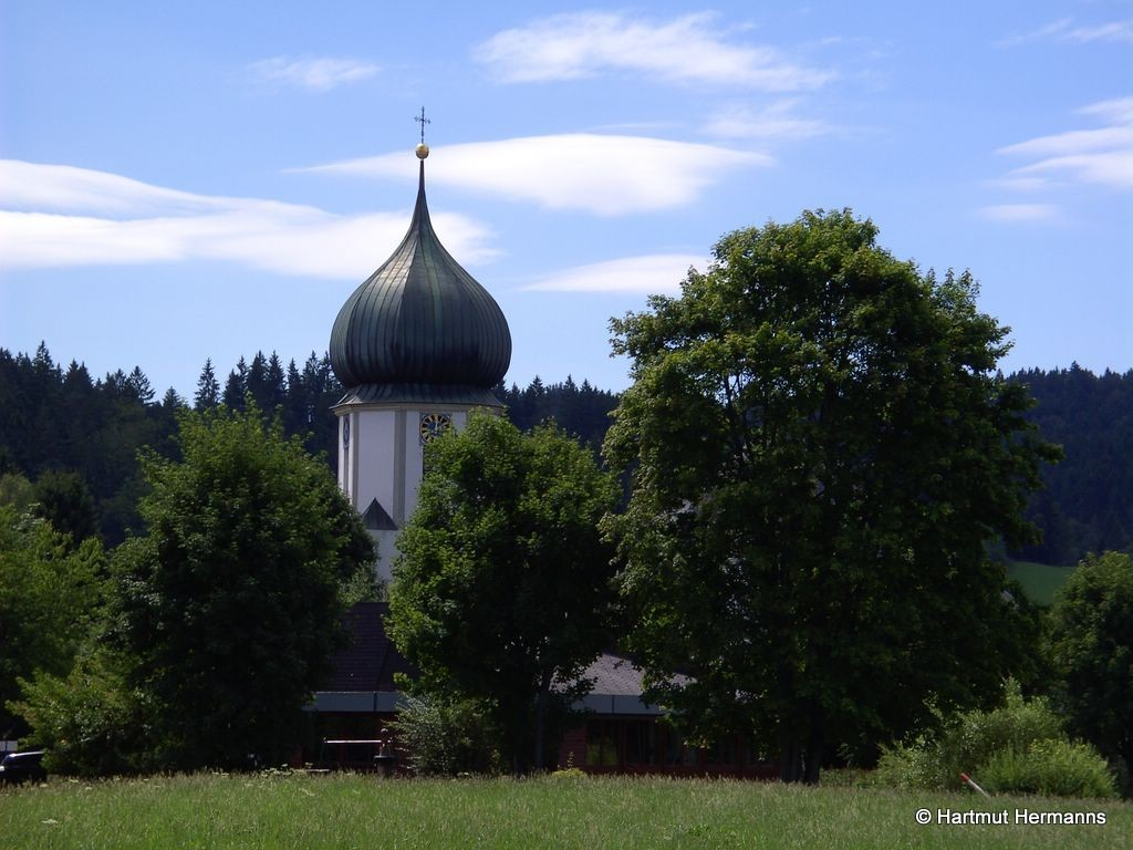 Kath.Pfarrkirche in Hinterzarten     © Hartmut Hermanns