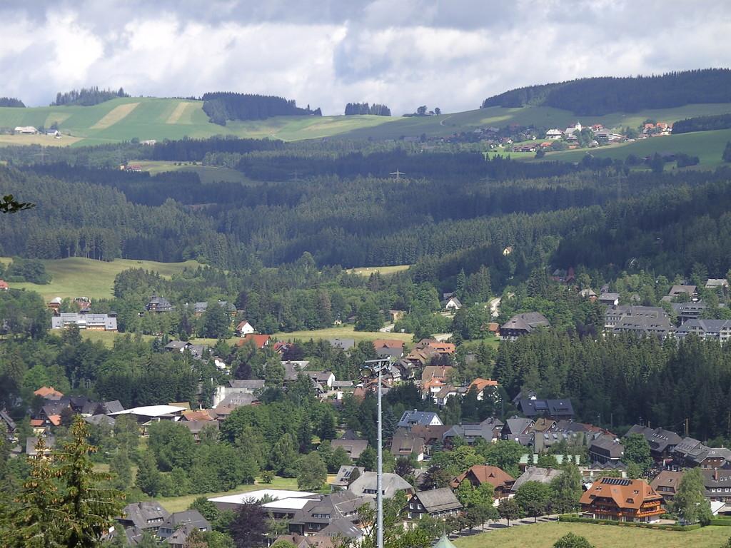 Hinterzarten und Breítnau im Hintergrund