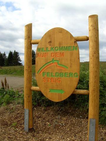 Beginn des Feldbergsteigs   © Hartmut Hermanns