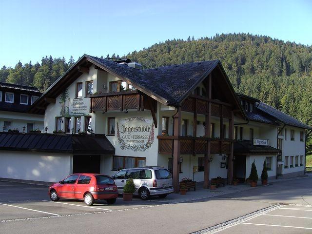 Start beim Berghotel Jägerstüble © Hartmut Hermanns