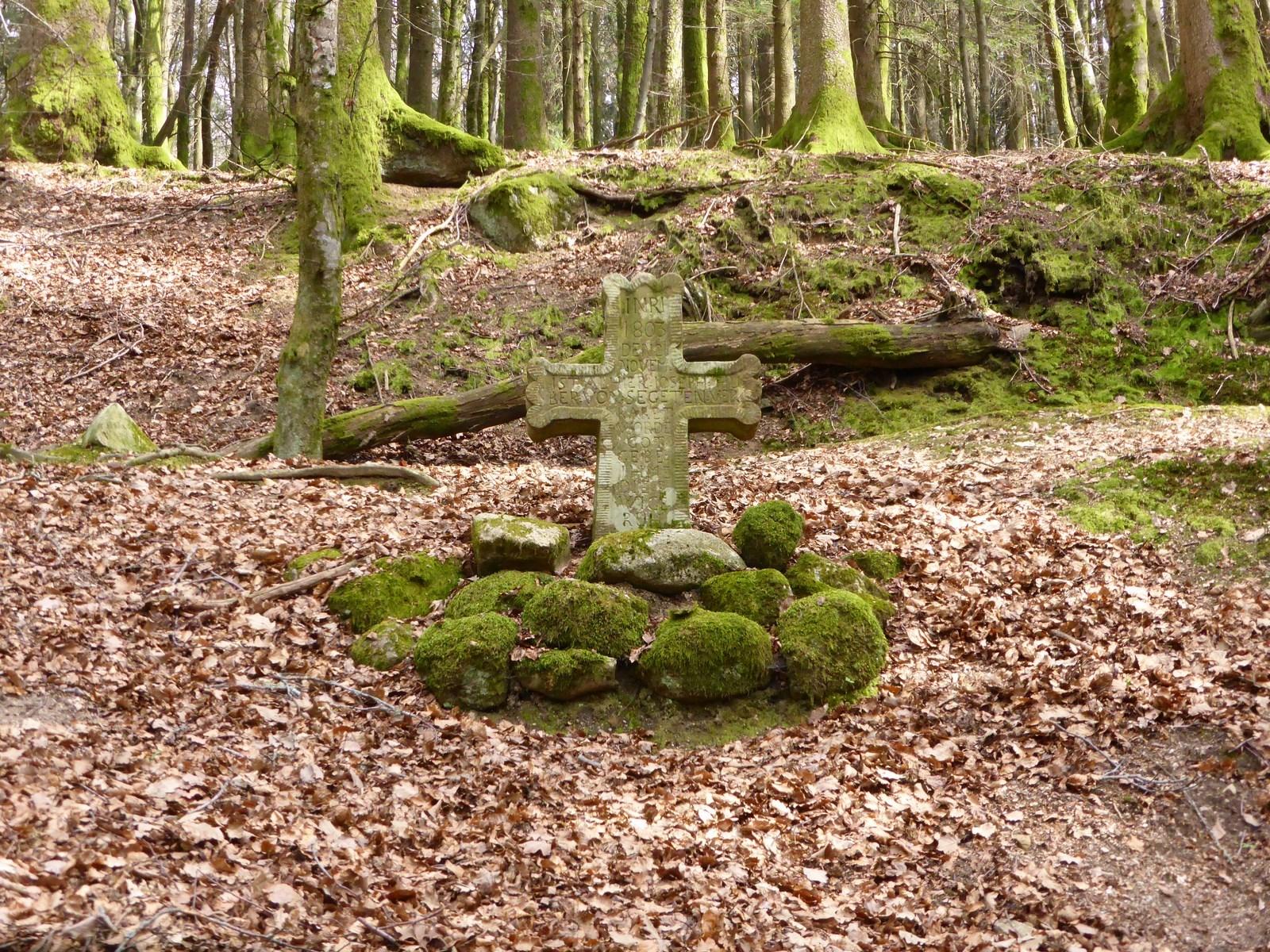 Kreuz an der Hochsaler Wuhr © Hartmut Hermanns