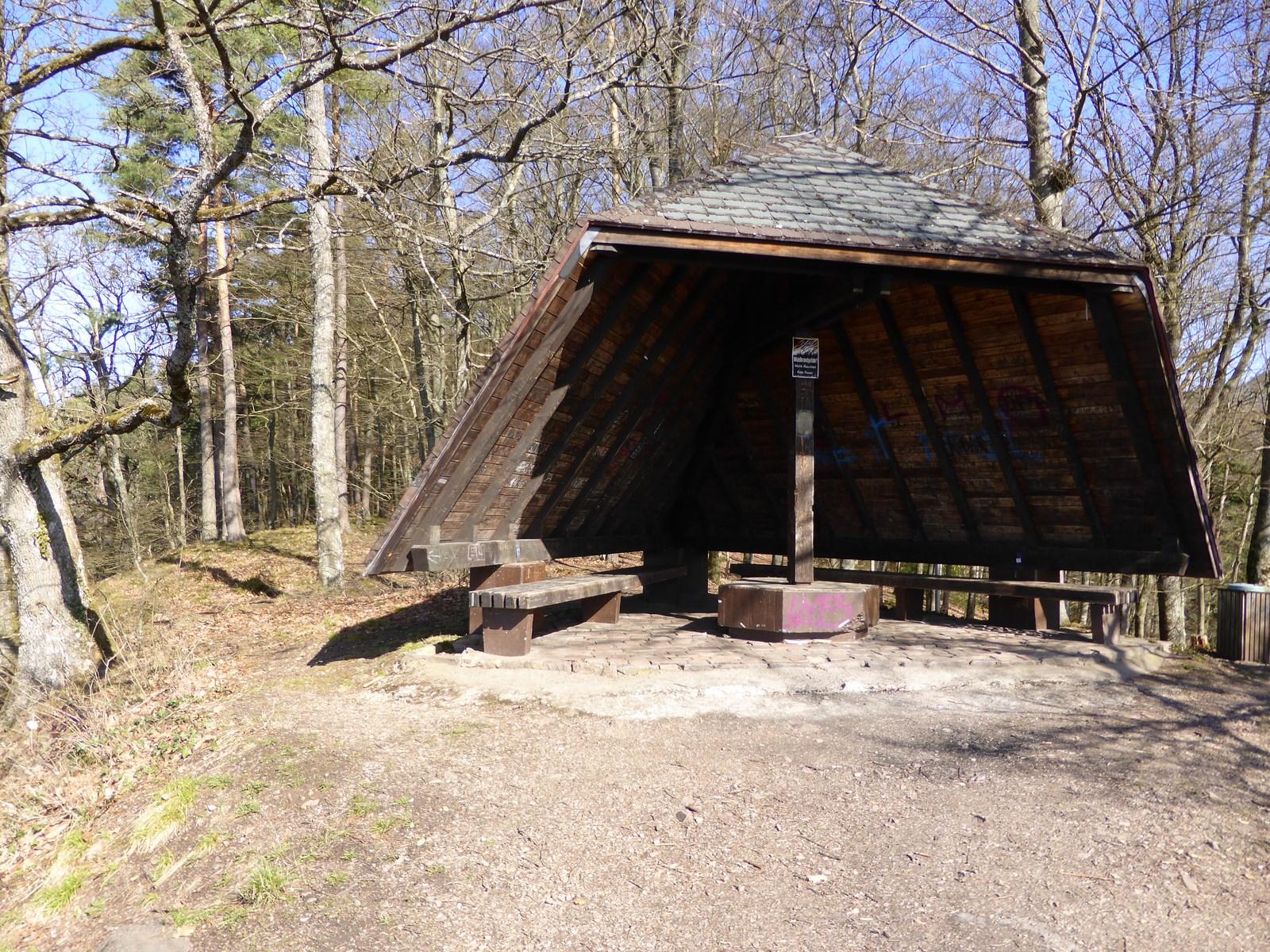 Wanderhütte auf dem Röthekopf  © Hartmut Hermanns
