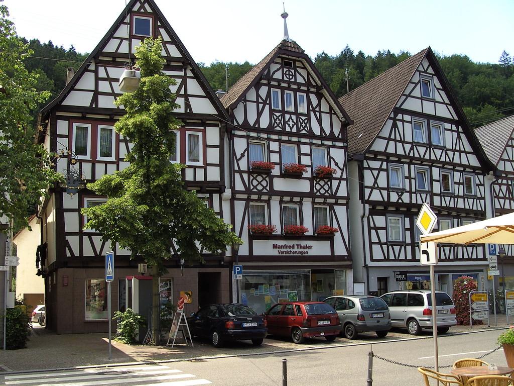 Altstadt  in Neuenbürg                                                            © Hartmut Hermanns