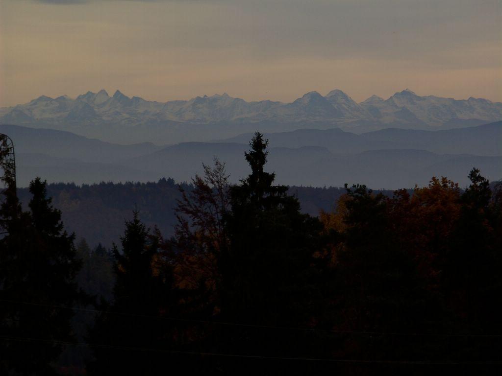 Alpenblick im Oktober © Hartmut Hermanns