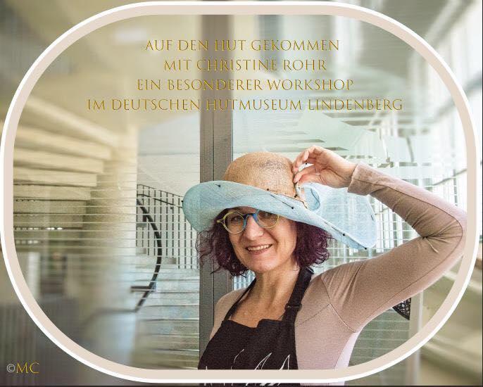 Christine Rohr - Master Milliner Workshop Sommerhut aus Sinamay