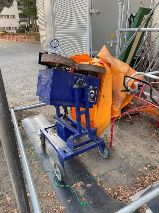 群馬県の高校野球部様よりマシン修理のご依頼をいただきました。