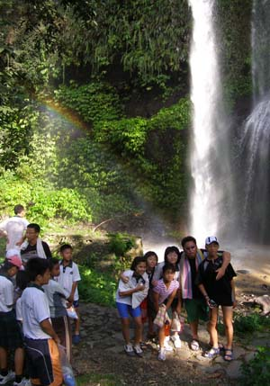 Sendang Gile Waterfall, Senaru Panorama Walk