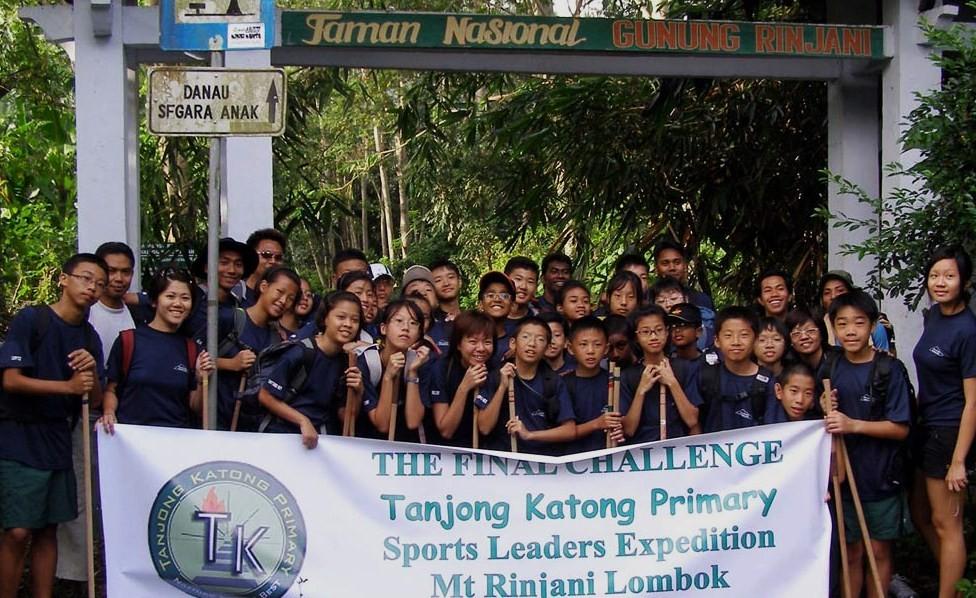 Tanjung Katong Primary School Singapore during rinjani trek expedition