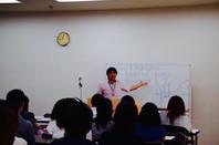 7/4(土)本校の説明会の様子。河原塾全体で50名以上の参加がありました。