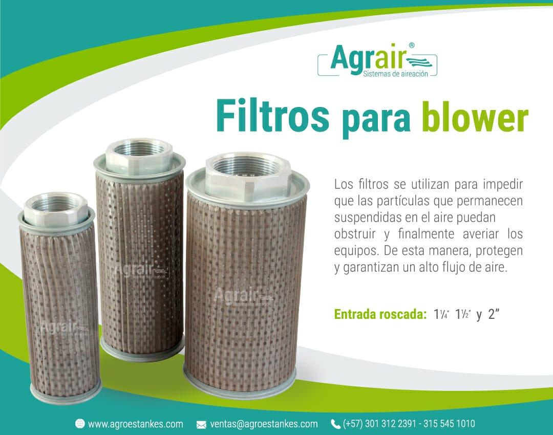 Filtros de aire para Blower