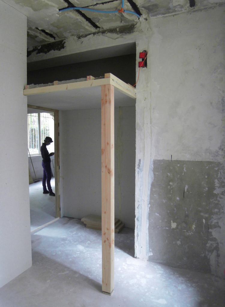 création mezzanines et niches rangements dans les chambres