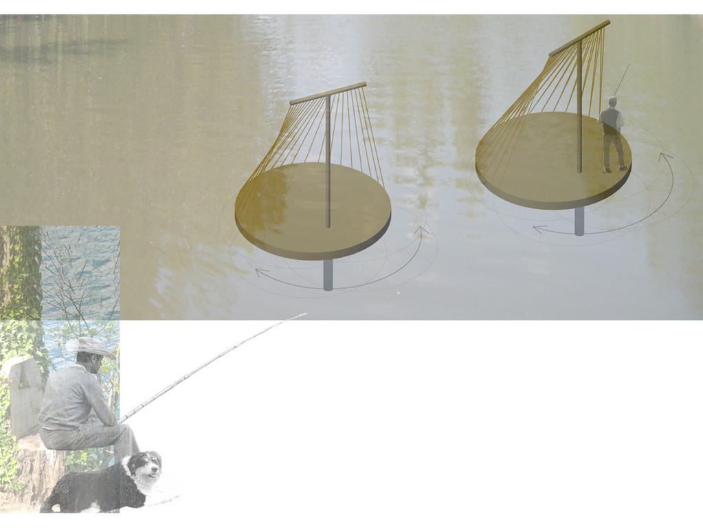 cabanes de pêcheur orientables, protection tissée soleil/vent