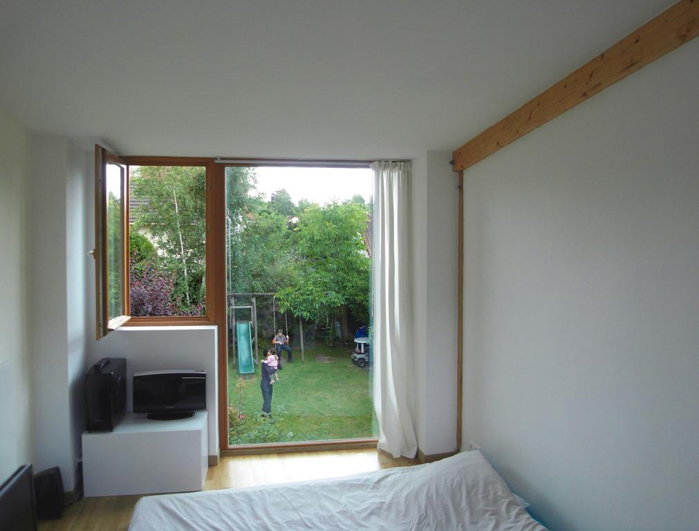 R novation d 39 un pavillon et extension en bois pavillons for Extension maison 93