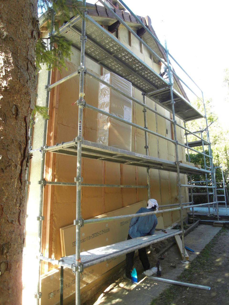 couches croisées fibre de bois souple/dense