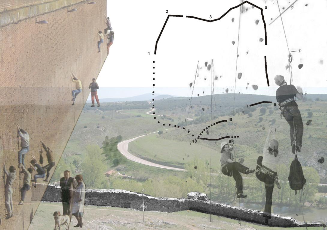 escalade des remparts