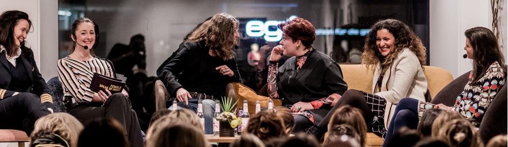 Anna Kopp, Nora Gomringer, Cordula Pflaum, Maral Purmadi, Magdalena Oehl