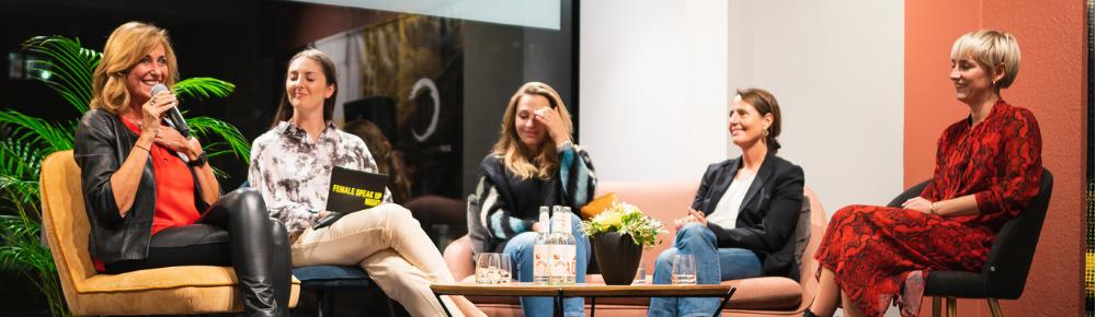 Dagmar Wöhrl, Sophia Flörsch, Iris von Zastrow - Female Speak Up Night