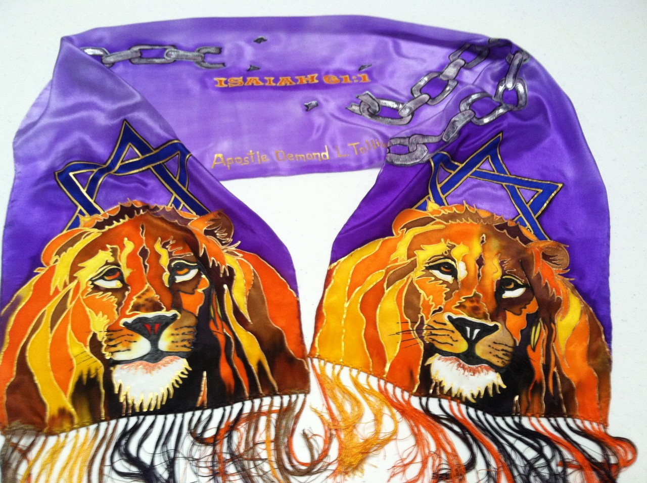 Lions Isaiah 61 Scarf