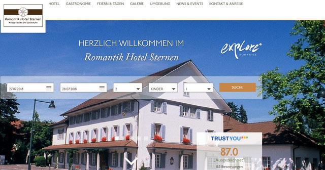 Sternen Kriegstetten - Hotel zentral im Mittelland