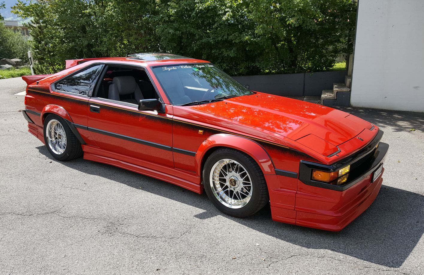 Toyota Celica Supra 1982 1986 Tcsts Webseite