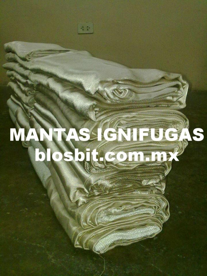 MANTAS IGNÍFUGAS PROTECCIÓN CONTRA EL FUEGO.