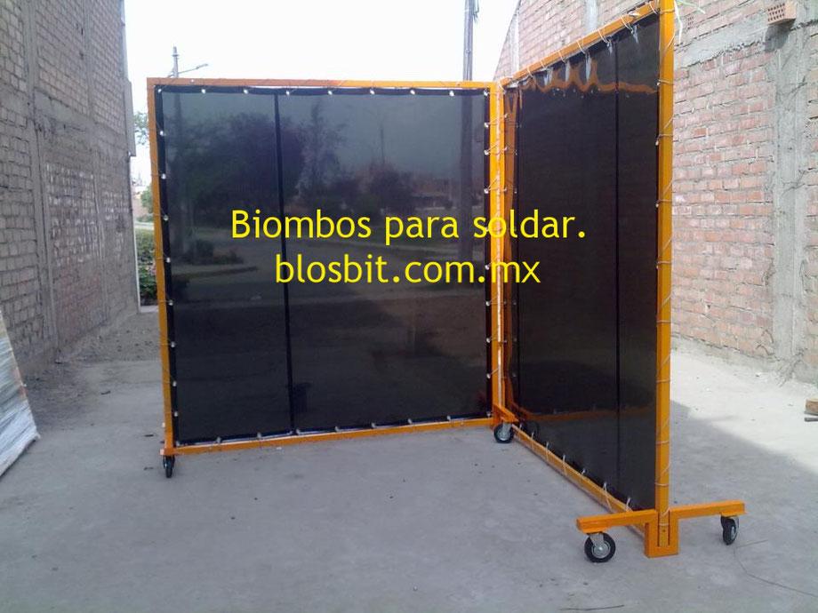 BIOMBOS PARA SOLDAR.