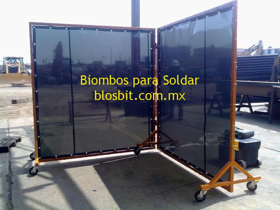 BIOMBOS PARA SOLDADURA EN MEXICO.