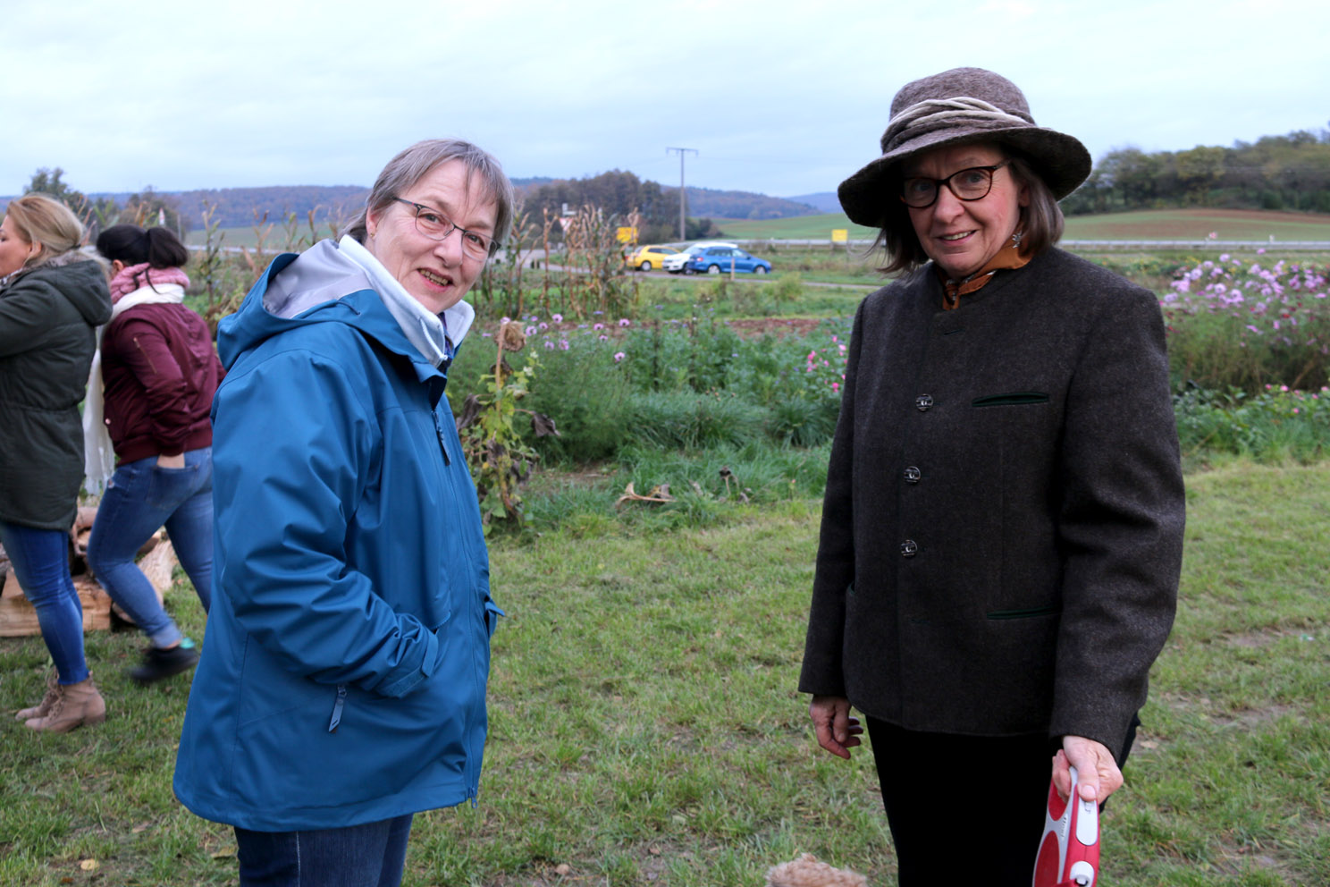 Corinna Fuchs und Christa Stoppel