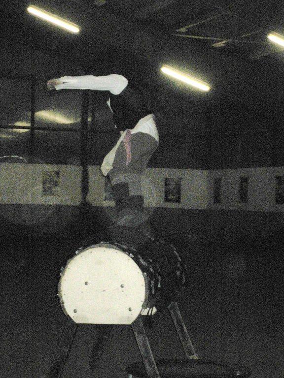 Franzi tanzt auf dem Bock